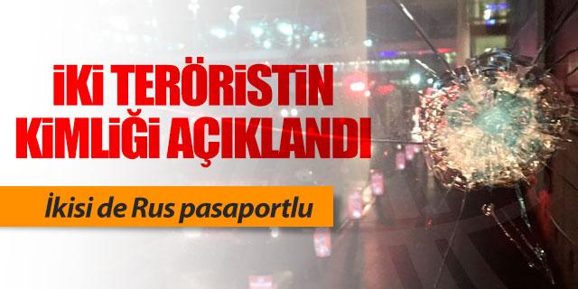 İki teröristin kimliği belli oldu