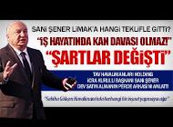 """SANİ ŞENER: """"BİZİM BURAYA GİRMEMİZ GEREKİYORDU"""""""