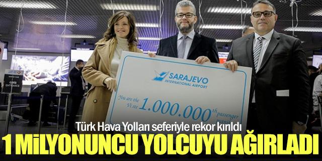 Saraybosna Havalimanı THY yolcusuyla rekor kırdı