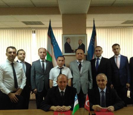 SHGM Özbekistan ile anlaşma imzaladı