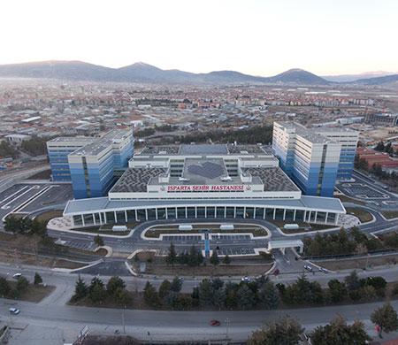 Isparta Şehir Hastanesi'ne TAV damgası
