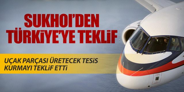 SUKHOI'DEN TÜRKİYE'YE TEKLİF
