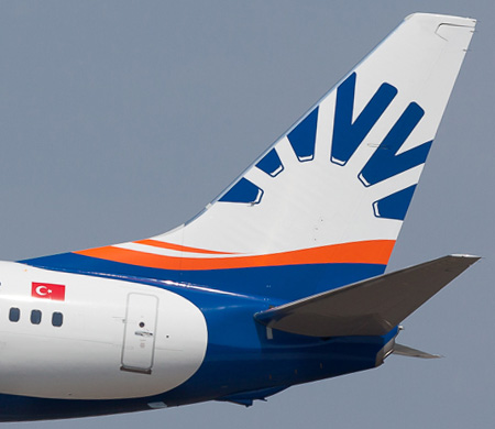 SunExpress'in yeni uçağı teslimat için havalandı