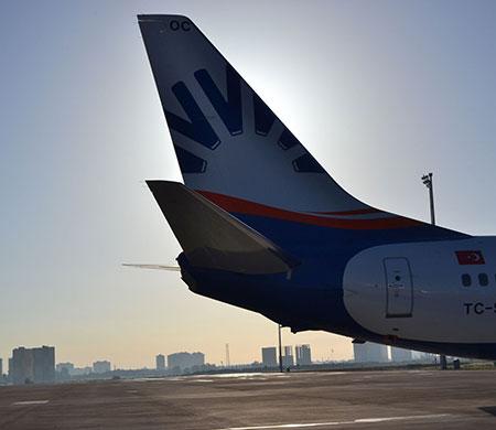 Sunexpress yılın ilk uçağını teslim aldı