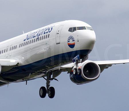 SunExpress'in yeni uçağı test uçuşlarına başladı