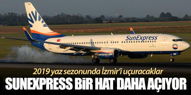 SunExpress yeni bir hat daha açıyor