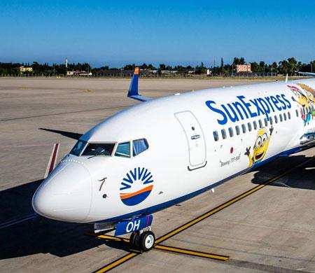 SunExpress'ten yolcularına hesaplı menü