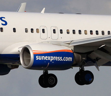 SunExpress'in yeni uçağı Antalya'ya indi
