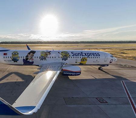 İşte Sunexpress'in yeni uçağı
