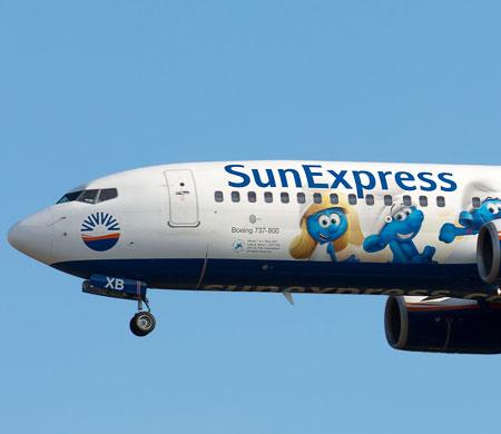 SunExpress uçağı Toulouse'a acil iniş yaptı!