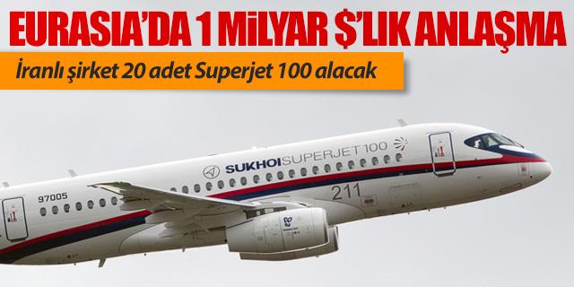 Eurasia Airshow'da İranlı şirketten 1 milyarlık uçak anlaşması