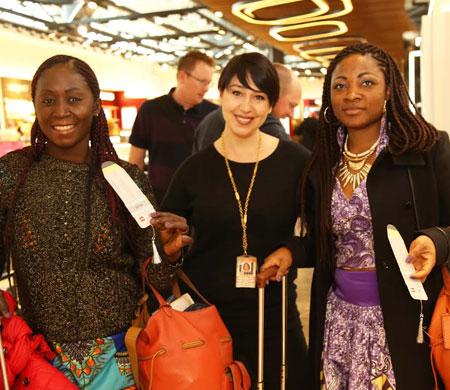 TAV Kadınlar Günü'nü TEV işbirliği ile kutladı