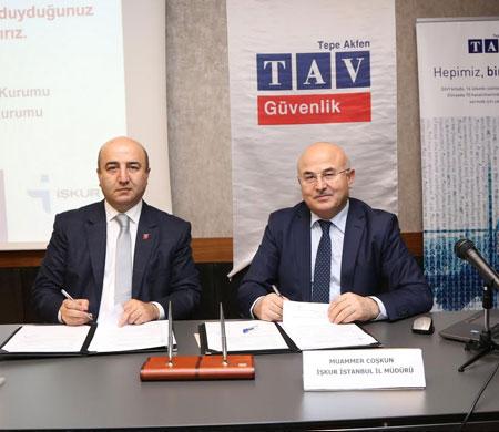 TAV ve İŞKUR'dan istihdam anlaşması