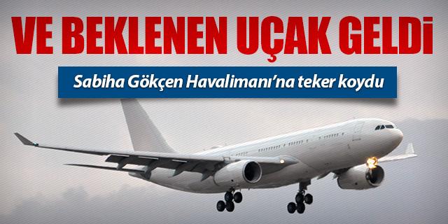 TC-TUR SABİHA GÖKÇEN'E TEKER KOYDU