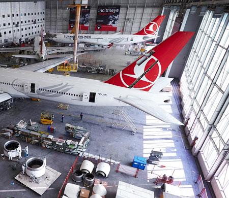 THY Teknik uçakların yüksekliğini belirledi
