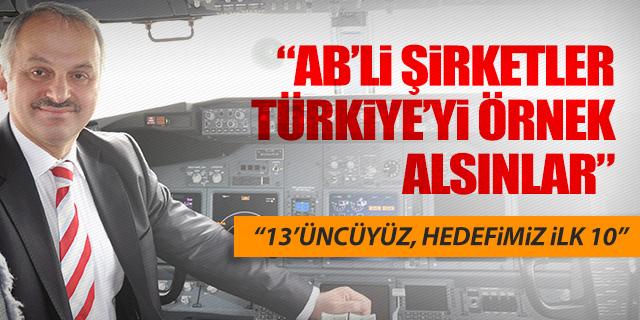 TEMEL KOTİL; 'TÜRKİYE'Yİ ÖRNEK ALIN'
