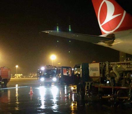 Atatürk Havalimanı'nda az daha facia yaşanıyordu