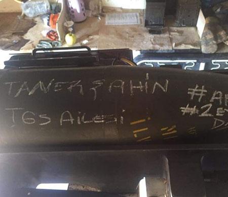 Afrin'e TGS bombası