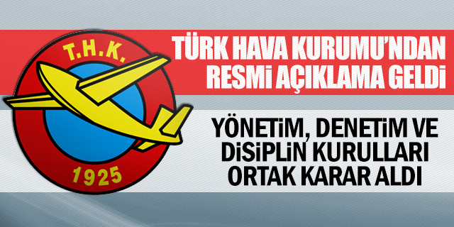 THK'DAN RESMİ AÇIKLAMA GELDİ