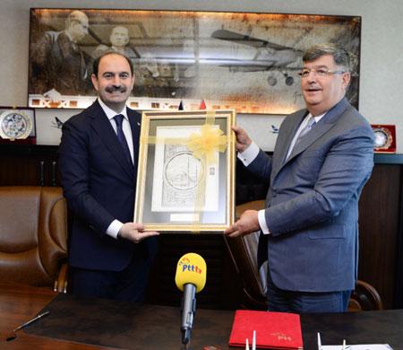 PTT ile THK Üniversitesi arasında işbirliği