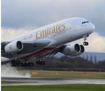 Emirates'ten A380 raporu