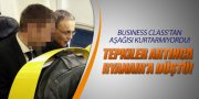 BUSINESS'TAN İNDİ... RYANAIR'A BİNDİ!