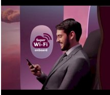 Qatar Airways'ten ücretsiz Super Wi-Fi sürprizi