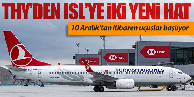 THY'den İstanbul Yeni Havalimanı'na iki yeni hat