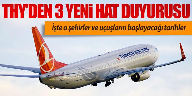 THY Antalya'dan uçacağı 3 yeni yurt dışı rotasını açıkladı