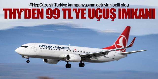 Ευκαιρία πτήσης από THY για 99 TL