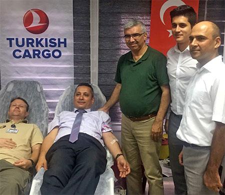 THY çalışanlarından kan bağışı kampanyası