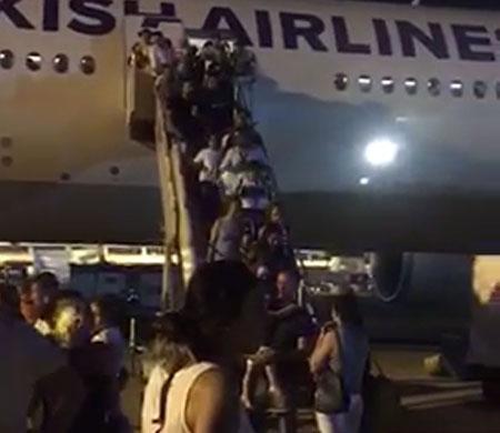THY yolcuları kriz geçirdi!