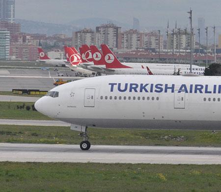 THY'nin Tel Aviv uçağı Atatürk Havalimanı'na geri döndü