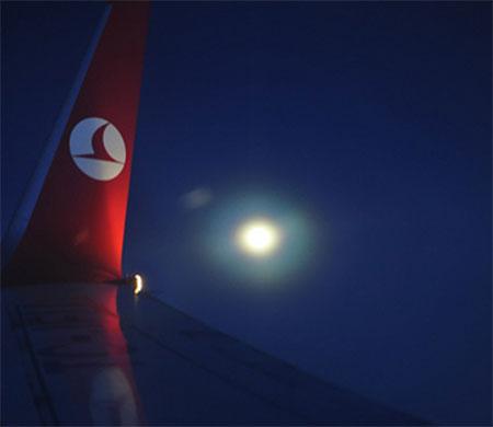 THY ilk gece uçuşunu ne zaman yaptı?