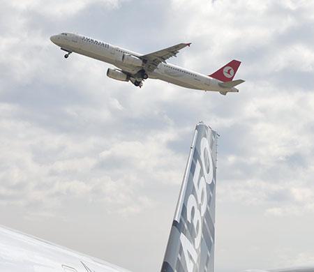 THY 25 adet A350 için Airbus'la anlaştı