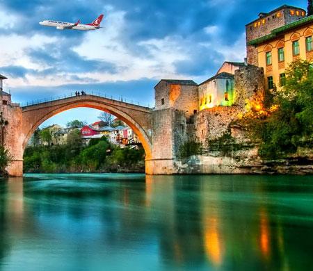 Türk Hava Yolları'ndan Mostar atağı