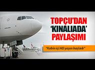 HAMDİ TOPÇU'DAN 'KINALIADA' PAYLAŞIMI