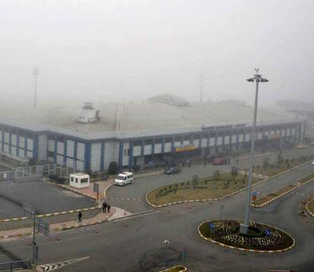 Trabzon'da uçuşlar sis engeli