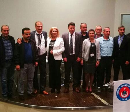 TUS 1 Nolu Şube'de başkanlığa Kaygusuz seçildi