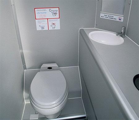Uçak tuvaletinde bebek cesedi bulundu