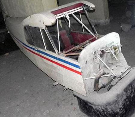 Bodrumda bulunan uçak hurdalığın yolunu tuttu!