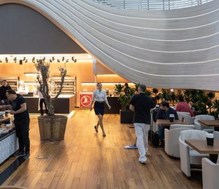 Iste Thy Nin Istanbul Havalimani Ndaki Business Lounge I
