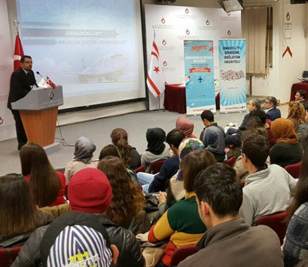 UKÜ'de Anadolu jet uçuş semineri