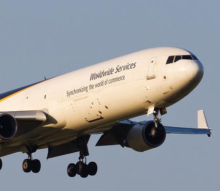 Motor arızası yaşayan UPS uçağı Esenboğa'ya indi