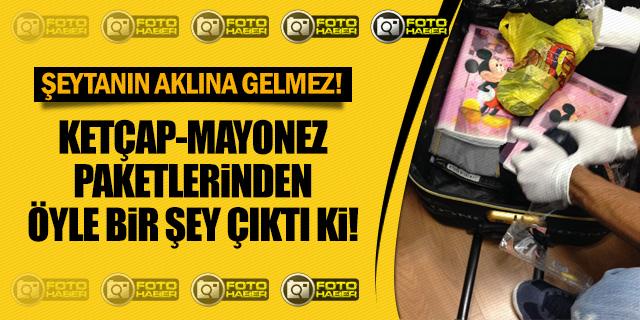 YOLCUNUN BAGAJINDAN ÇIKANLAR POLİSLERİ DE ŞAŞIRTTI!