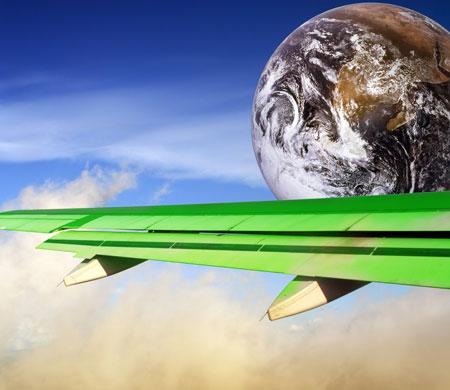 Biyoyakıt kullanan uçaklar daha çevreci