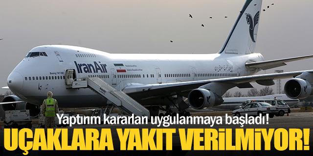 İran ve Suriye uçaklarına yakıt yok!