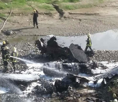 Yemen'de BAE uçağı düştü!