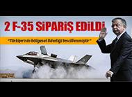 "SAVUNMA BAKANI YILMAZ: ""2 ADET F-35 SİPARİŞİ VERİLDİ"""