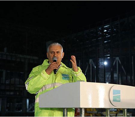 Başbakan Yıldırım; '3. havalimanını kıskanıyorlar'
